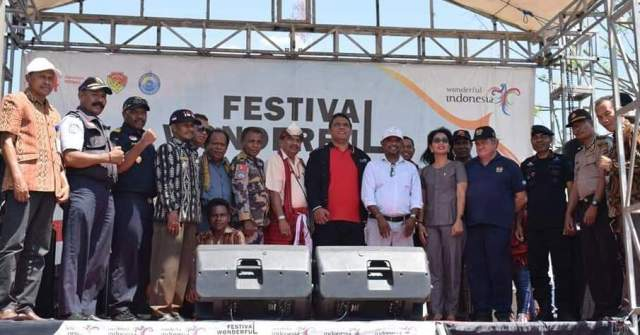 Presiden Rayon Oecusse Timor Leste Kunjungi PLBN -FORTUNA_NTT