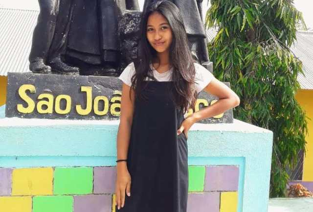 Rhena Dos Santos Ajak Wisatawan Kunjungi Timor Leste-FORTUNA-NTT